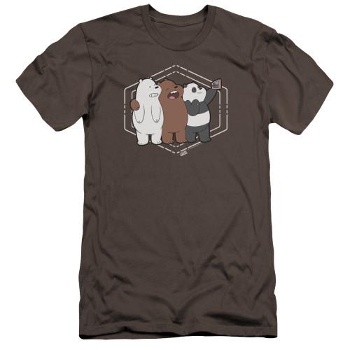 Image for We Bare Bears Premium Canvas Premium Shirt - Selfie