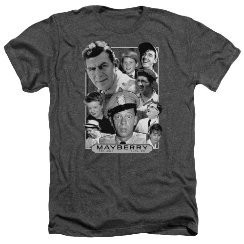 Image for Andy Griffith Show Heather T-Shirt - Mayberry