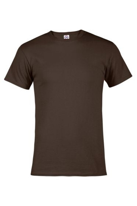 Image for Plain Coffee Brown T-Shirt