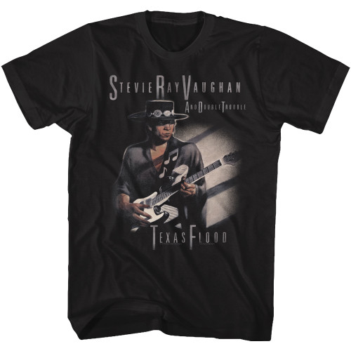 Image for Stevie Ray Vaughn T-Shirt - Texas Flood Too