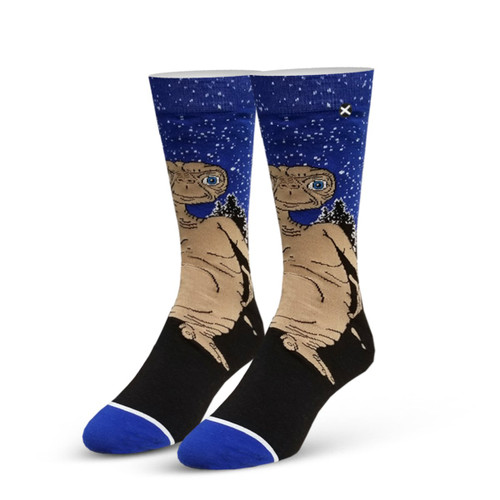 Image for ET the Extraterrestrial Knit Socks