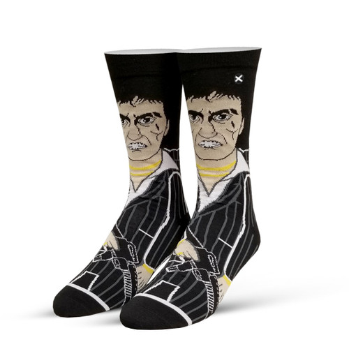 Image for Scarface Tony Montana Knit Socks
