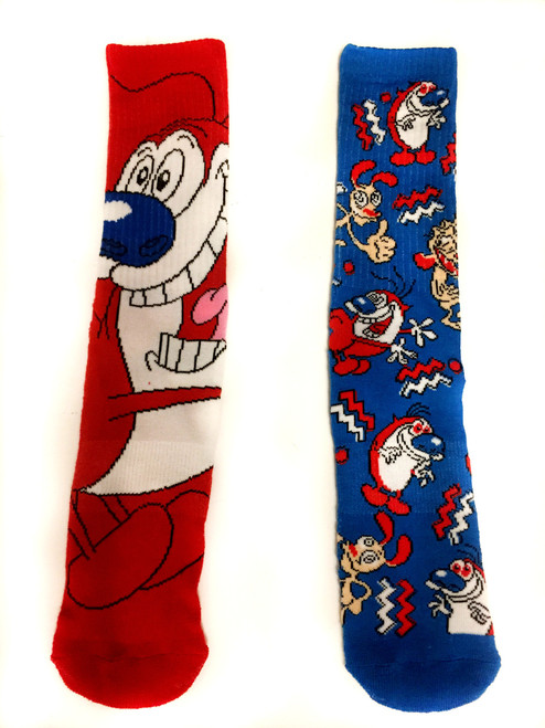 Image for Ren and Stimpy Characters Socks