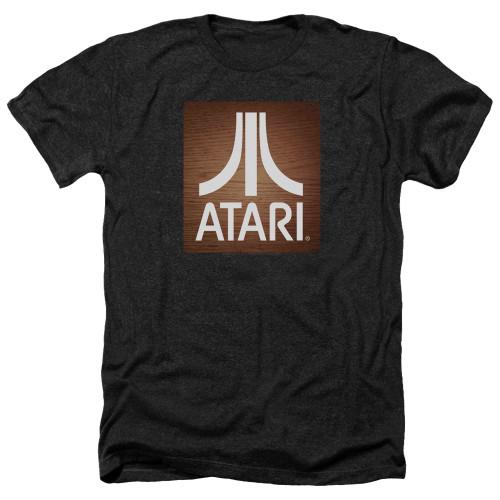 Image for Atari Heather T-Shirt - Classic Wood Square