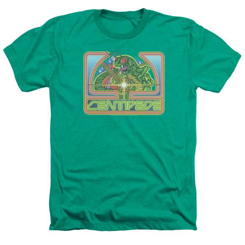 Image for Atari Heather T-Shirt - Centipede Green