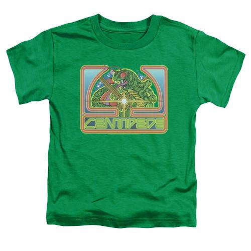 Image for Atari Toddler T-Shirt - Centipede Green