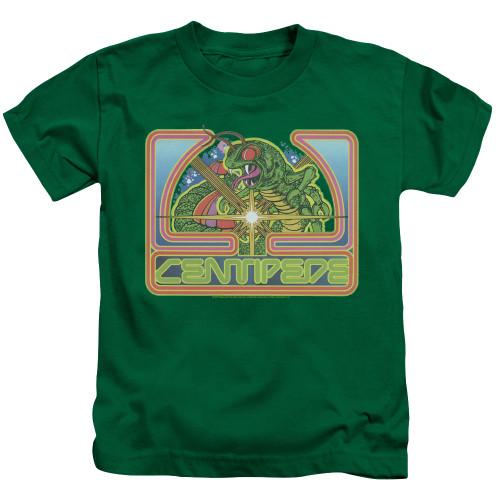 Image for Atari Kids T-Shirt - Centipede Green