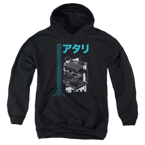 Image for Atari Youth Hoodie - Kanjii Schematic