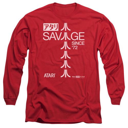 Image for Atari Long Sleeve Shirt - Savage 72