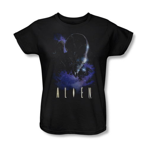 Image for Alien Woman's T-Shirt - In Space