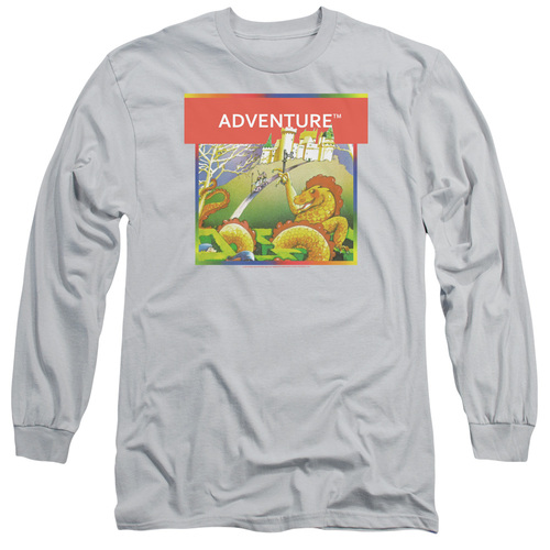 Image for Atari Long Sleeve Shirt - Swordquest 8 Bit Sword