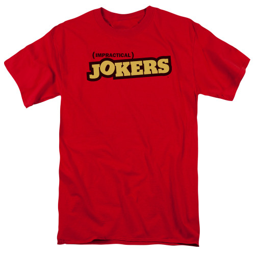 Image for Impractical Jokers T-Shirt - Red Logo