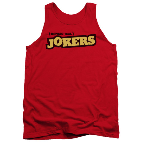 Image for Impractical Jokers Tank Top - Red Logo
