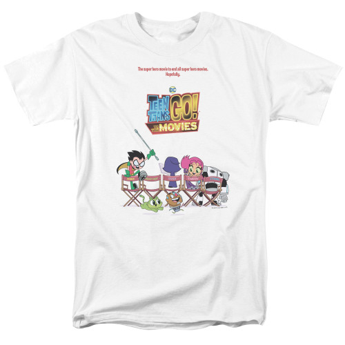 Image for Teen Titans Go! T-Shirt - Go to the Movies Poster