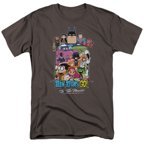 Image for Teen Titans Go! T-Shirt - Go to the Movies Hollywood
