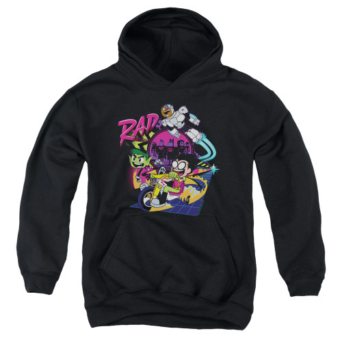 Image for Teen Titans Go! Youth Hoodie - Go to the Movies Rad