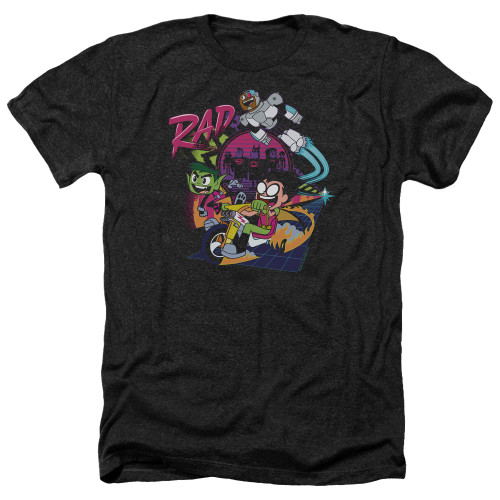 Image for Teen Titans Go! Heather T-Shirt - Go to the Movies Rad