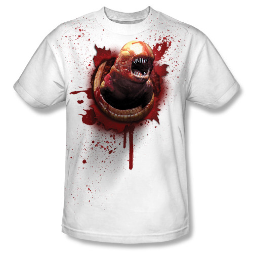 Image for Alien T-Shirt - Sublimated Chestburster 100% Polyester