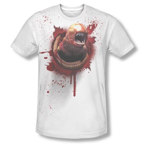 Image Closeup for Alien T-Shirt - Sublimated Chestburster
