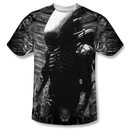 Alien T-Shirt - Sublimated Creature Feature 100% Polyester