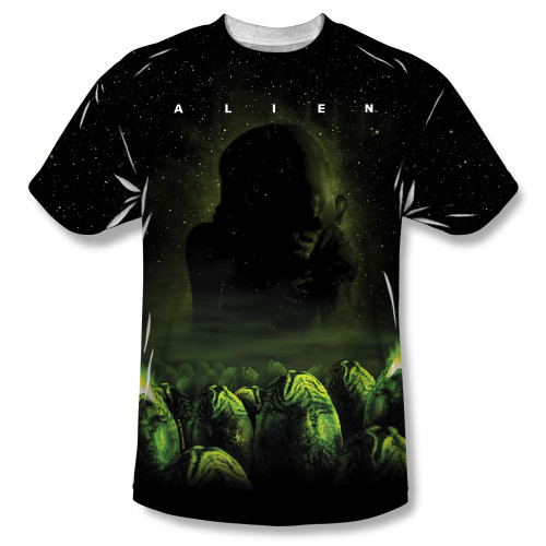 Image for Alien T-Shirt - Sublimated Ominous 100% Polyester