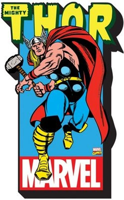 Image for Thor with Logo Chunky Magnet