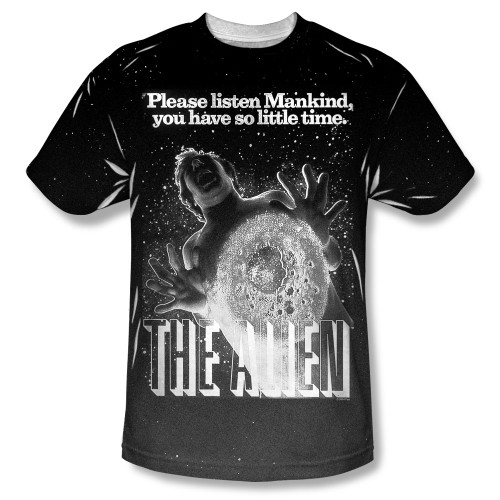 Image for Alien T-Shirt - Sublimated Vintage Fear 100% Polyester