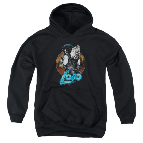 Image for Lobo Youth Hoodie - Lobo's Back
