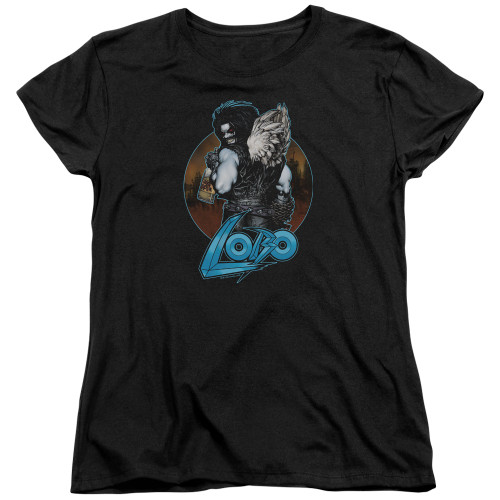 Image for Lobo Woman's T-Shirt - Lobo's Back