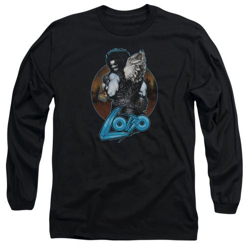 Image for Lobo Long Sleeve T-Shirt - Lobo's Back