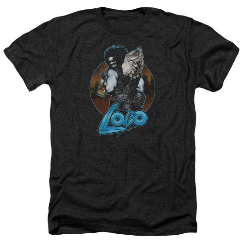 Image for Lobo Heather T-Shirt - Lobo's Back