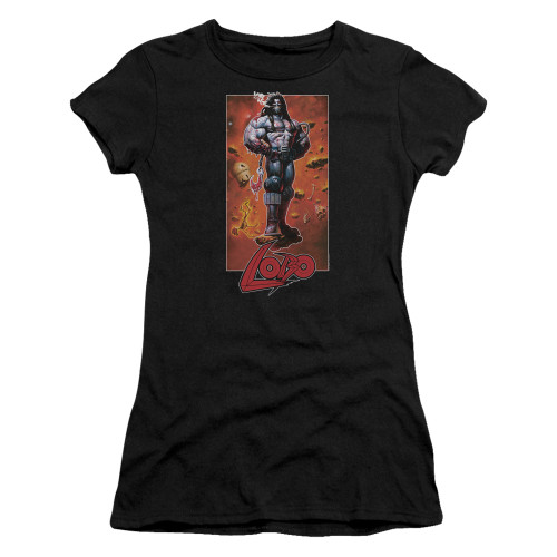 Image for Lobo Girls T-Shirt - Rock Pose