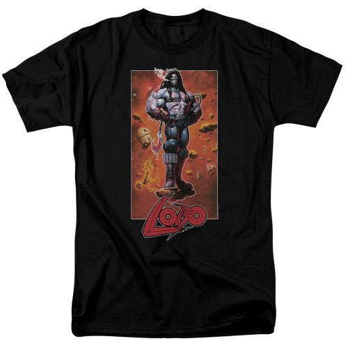 Image for Lobo T-Shirt - Rock Pose