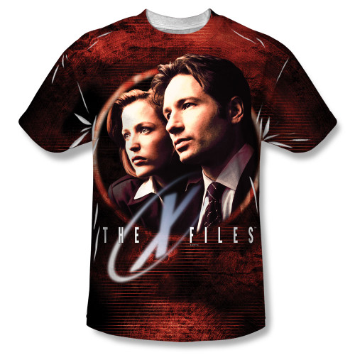 Image for X-Files T-Shirt - Sublimated Truth Seekers 100% Polyester