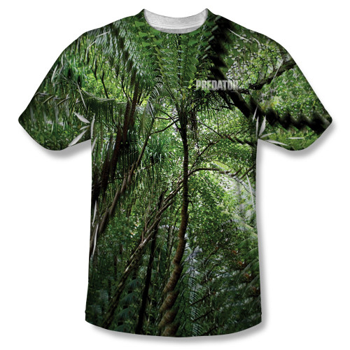 Image for Predator T-Shirt - Sublimated Active Camo 100% Polyester
