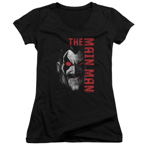 Image for Lobo Girls V Neck T-Shirt - the Main Man