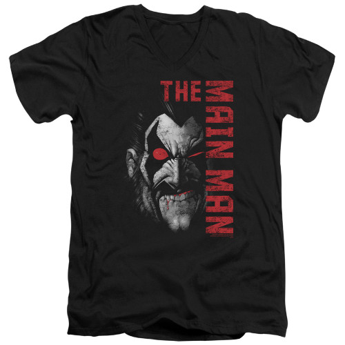 Image for Lobo V-Neck T-Shirt - the Main Man