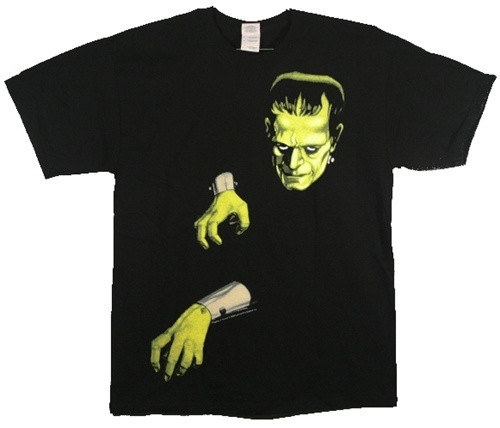 Image for Frankenstein Head and Hands T-Shirt