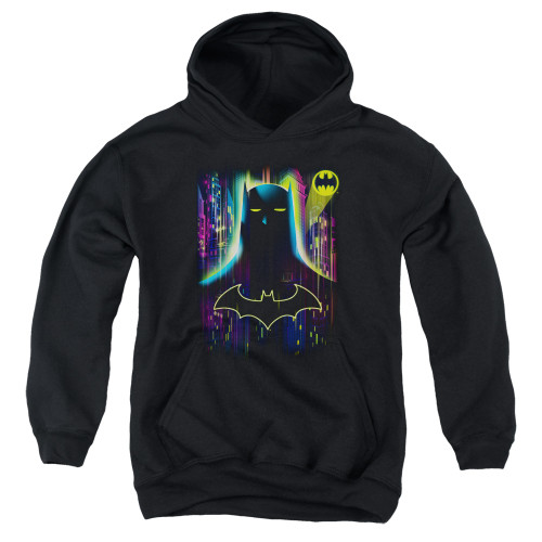 Image for Batman Youth Hoodie - Knight Lights