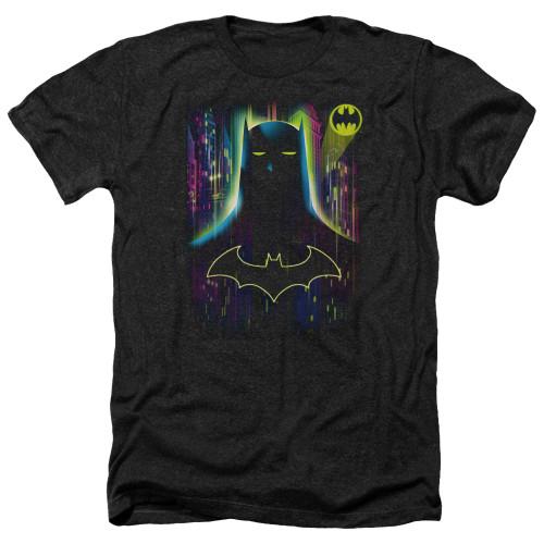 Image for Batman Heather T-Shirt - Knight Lights