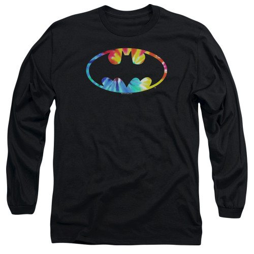 Image for Batman Long Sleeve T-Shirt - Tie Dye Logo