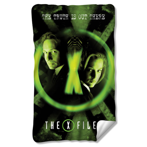 Image for X-Files Fleece Blanket - Trust No One