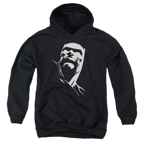 Image for Batman Youth Hoodie - Contrast Profile Head