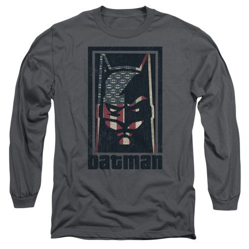 Image for Batman Long Sleeve T-Shirt - American Batman