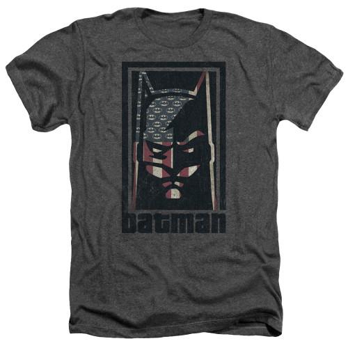 Image for Batman Heather T-Shirt - American Batman