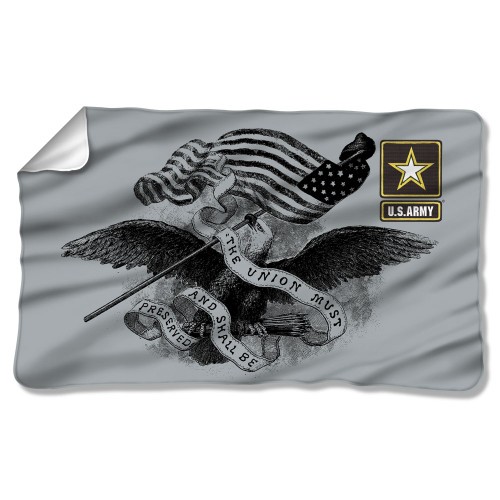 Image for U.S. Army Fleece Blanket - the Union Must Be Preserved