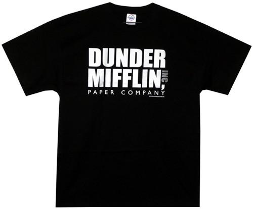 Image for The Office Dunder Mifflin Logo T-Shirt