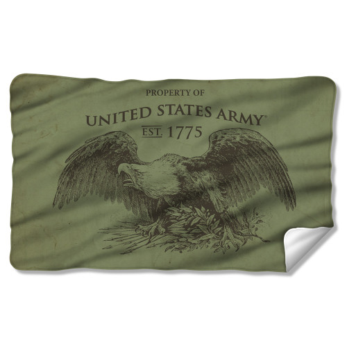 Image for U.S. Army Fleece Blanket - Property of US Army