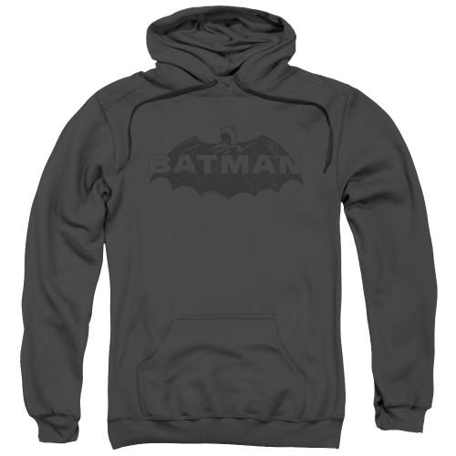 Image for Batman Hoodie - Newsprint Logo