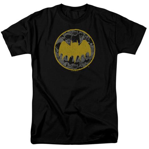 Image for Batman T-Shirt - Vintage Symbol Collage